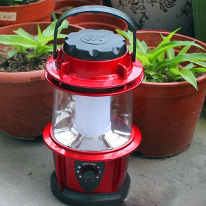 outdoor lantern light