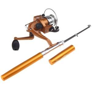 telescopic fishing pole rod